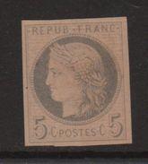 Essai 5c Ceres - Gris Sur Rose - Cote 30€ - Proofs