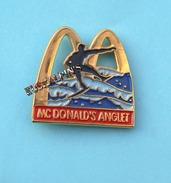 Pin's Mc DONALD'S ANGLET, Pays Basque, Surf, Mac Donald's, Mac Do - McDonald's