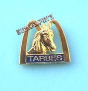 Pin's Mc DONALD'S TARBES, HAUTES PYRENEES, Bigorre, Mac Donald's, Mac Do, Cheval, Horse - McDonald's