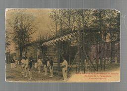 Cp, école Normale De Gymnastique De JOINVILLE , Redoute De La Faisanderie , Exercices Divers,ed : Breger, Voyagée - Schools