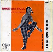 THE PLATTERS - SOLO Copertina SENZA Disco : < EP: Rock'n'Roll Vol. 1 > Picture Sleeve ONLY - Collectors