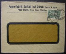 1923 Brück Kreis Düren (Rheinland) Papierfabrik Zerkall Bei Düren - Deutschland