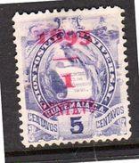 Surcharge 1893 '93' Dropped Mint, No Gum (135) - Nicaragua