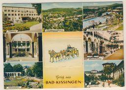 AK  Bad Kissingen Rucksackkarte Mit Leporello - Bad Kissingen