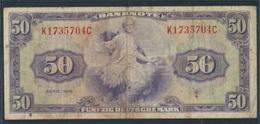 BRD Rosenbg: 242, Kenn-Bst.: K Gebraucht (III) 1948 50 Deutsche Mark (7412441 - [ 7] 1949-… : RFA - Rep. Fed. De Alemania