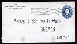 A5003) US Envelope 5c Scott #U330 1899 With Print - Ganzsachen