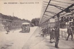 VINCENNES - Départ Des Autobus - TBE - Transport Urbain En Surface