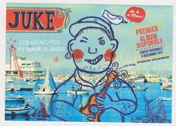 26243  JUKE Aventures Tenor Brest - Ed Label Caravan 2017 -port  Chanson Marin Chanteur Musique Disque - Brest