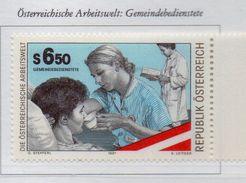 PIA  -  AUTRICHE -  1997  : Il Mondo Del Lavoro In Austria : Infermiera -  (UN 2062) - Medicina