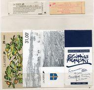 Couvertures De Carnets,tres Utiles Pour Lors D'expos,voir 2scanns Et Details - Unclassified