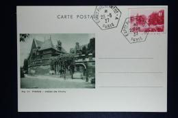 France:  Carte Postale 1937  Paris G1a - G1 E  ((G1S) - Biglietto Postale
