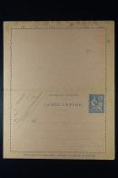 France:  Carte Lettre 1902  P127   F1 - Postal Stamped Stationery