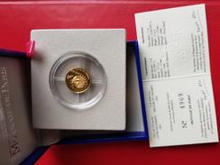 Coffret 1/4 Euro Des Enfants Or France 2002  Neuf - Gold