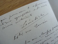 Léon SECHE (1848-1914) Littérateur Spécialiste La Pléiade & Romantisme. AUTOGRAPHE - Autographes