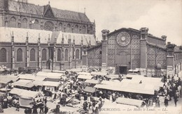 TOURCOING - Les Halles Le Lundi - Marché Animé - Tourcoing