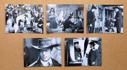 Cinema Lotto 5 Foto Di Scena Del Film Uno Dopo L'altro - Richard Harrison - 1969 - Foto