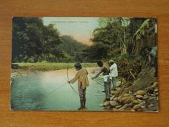 COSTA RICA TALEMANCA INDIANS FISHING  INDIENS - Costa Rica