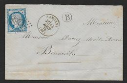 Haute Savoie - G.C.  3288  Et Cachet Type 16  SAMOENS - Marcophilie (Lettres)