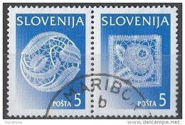 265 Slovenia 1996 - Idrijan Lace - Pizzo - Merletti - Slovenija - Slowenien