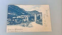 CARTOLINA GRUSS AUS FRANZENFESTE - Bolzano