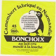 ETIQUETTE DE  CAMEMBERT  CARREE FROMAGERIE VAL DE SIENNE 50 AM GAVRAY - Cheese