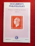REVUE DE L'ACADÉMIE DE PHILATELIE TOME XXIX  N° 123 - Autres Livres