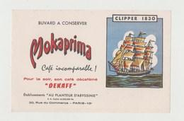 BUVARD MOKAPRIMA Café DEKAFF - CLIPPER 1830 - Coffee & Tea
