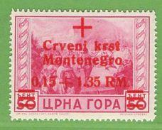 MiNr.30 Xx  Deutsches Reich Montenegro - Occupation 1938-45