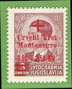 MiNr.31 Xx  Deutsches Reich Montenegro - Occupation 1938-45