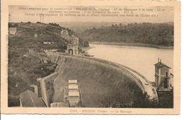 L40B137 - Eguzon  - Le Barrage  - La Cigogne - Frankreich