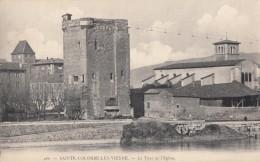 CPA - Ste Colombe Lès Vienne - La Tour Et L'église - France