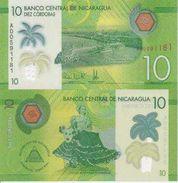 Nicaragua New 10 Cordobas 2014 UNC - Nicaragua