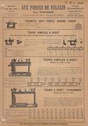 Catalogue Outil Aux Forges Du Vulcain 1904 Tour - France