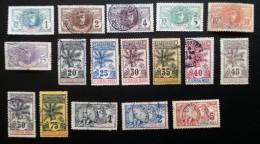 HAUT SENEGAL ET NIGER - YT N°1 à 17 - 1906 - Oblitérés - Haut-Sénégal Et Niger (1904-1921)
