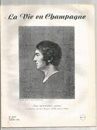 Revue LA VIE EN CHAMPAGNE , Régionalisme, N° 317,1982, 20 Pages, E. Quenedey ,pentre Né Aux Riceys , Frais Fr 1.95 E - Tourism & Regions