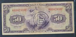BRD Rosenbg: 243a Mit B-Stempel Ausgabe Für West-Berlin Gebraucht (III) 1948 50 Deutsche Mark (8087378 - [ 7] 1949-… : FRG - Fed. Rep. Of Germany
