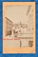 Photo Ancienne CDV - FIUME RIJEKA - Statue De L' Empereur François Joseph - 1874 - Croatie Croatia Primorje Gorski Kotar - Fotos