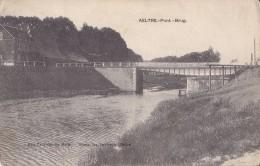 Aeltre Pont - Brug Circulée En 1911 - Aalter
