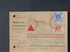 71/242  CP  ALLEMAGNE  1952 - [7] Federal Republic