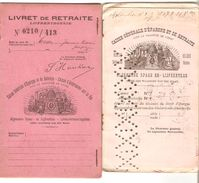 Belgique Carnet D'Epargne (Pensions De Vieillesse-livret D'Epargne-Livret De Retraite) PR4791 - 1900 – 1949