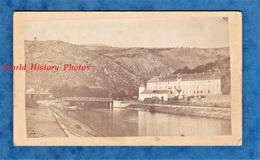 Photo Ancienne CDV - FIUME / RIJEKA - Pont De Chemin De Fer - 1874 - TOP RARE - Croatie Croatia Primorje Gorski Kotar - Fotos