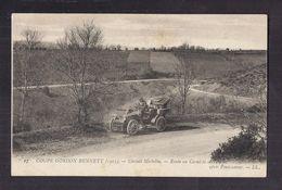 CPA 63 - COUPE GORDON BENNETT ( 1905 ) - Circuit MICHELIN - Route En Corniche Et Virages Après PONTAUMUR TB AUTOMOBILE - Motorsport
