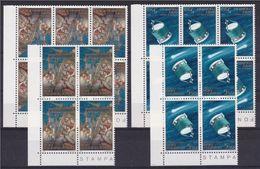 1986 San Marino Saint Marin COMETA DI HALLEY COMET 12 Serie Di 2v. MNH** 6 + 4 + 2 - Europe