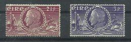 IRLANDA YVERT 106/07    MH  * - 1937-1949 Éire
