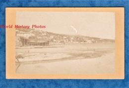 Photo Ancienne CDV - FIUME / RIJEKA - Chantier Naval - Lazaret - 1874 - Bateau Croatie Croatia Primorje Gorski Kotar - Fotos