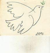 """PICASSO """" Colombe Bleue"""" - Schilderijen"""