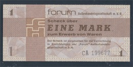 DDR Rosenbg: 368a Forumscheck Zum Erwerb Von Ausländischen Waren Bankfrisch 1979 1 Mark (8345859 - [ 6] 1949-1990 : RDA - Rep. Dem. Tedesca