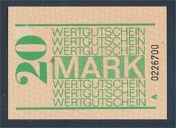 DDR Gefängnisgeld Serie A Bankfrisch 20 Mark (8047617 - [ 6] 1949-1990 : RDA - Rep. Dem. Tedesca