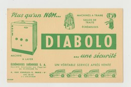 BUVARD MACHINES A TRAIRE DIABOLO - Agriculture