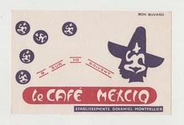 BUVARD CAFE MEXCIQ Etablissements DENAMIEL MONTPELLIER - Coffee & Tea
